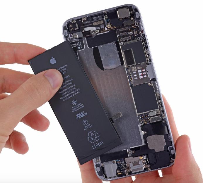 замена батареи iphone 6 plus киев